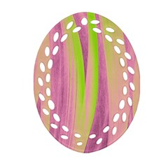 Artistic Pattern Ornament (oval Filigree) by Valentinaart