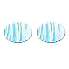 Artistic Pattern Cufflinks (oval) by Valentinaart