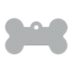 Artistic Pattern Dog Tag Bone (one Side) by Valentinaart