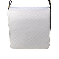 Artistic Pattern Flap Messenger Bag (l)  by Valentinaart