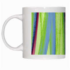 Artistic Pattern White Mugs by Valentinaart
