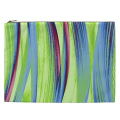 Artistic Pattern Cosmetic Bag (xxl)  by Valentinaart