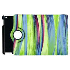 Artistic Pattern Apple Ipad 2 Flip 360 Case by Valentinaart
