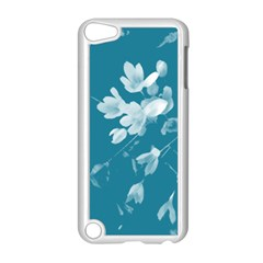 Autumn Crocus Blue Apple Ipod Touch 5 Case (white) by DeneWestUK