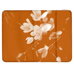 Autumn Crocus Orange Samsung Galaxy Tab 7  P1000 Flip Case by DeneWestUK