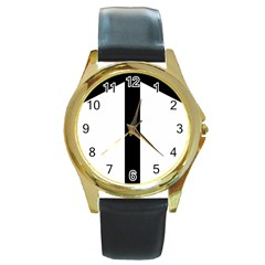 Grapevine Cross Round Gold Metal Watch by abbeyz71