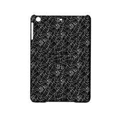 Linear Abstract Black And White Ipad Mini 2 Hardshell Cases by dflcprints