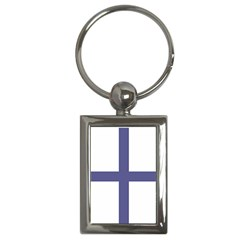Greek Cross  Key Chains (rectangle)  by abbeyz71