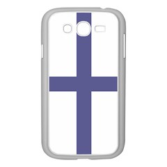Greek Cross  Samsung Galaxy Grand Duos I9082 Case (white) by abbeyz71