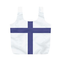 Greek Cross  Full Print Recycle Bags (m)