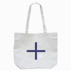 Greek Cross  Tote Bag (white) by abbeyz71