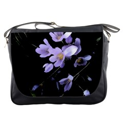 Autumn Crocus Messenger Bags by DeneWestUK