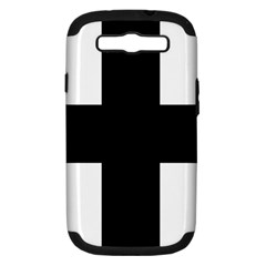 Greek Cross Samsung Galaxy S Iii Hardshell Case (pc+silicone) by abbeyz71