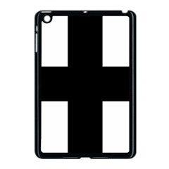 Greek Cross Apple Ipad Mini Case (black) by abbeyz71
