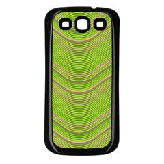 Pattern Samsung Galaxy S3 Back Case (black) by Valentinaart