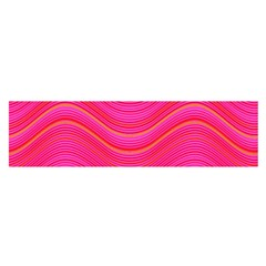 Pattern Satin Scarf (oblong) by Valentinaart