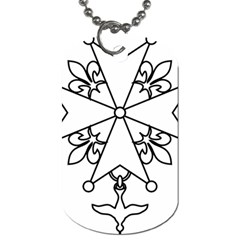 Huguenot Cross Dog Tag (two Sides) by abbeyz71