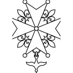 Huguenot Cross 5 5  X 8 5  Notebooks by abbeyz71