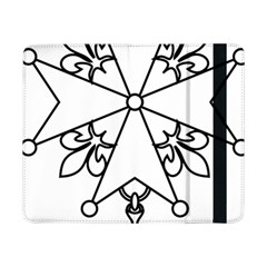 Huguenot Cross Samsung Galaxy Tab Pro 8 4  Flip Case by abbeyz71