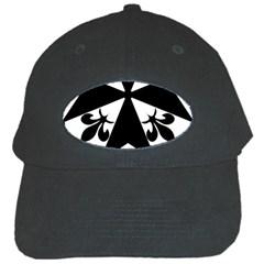 Huguenot Cross Black Cap by abbeyz71