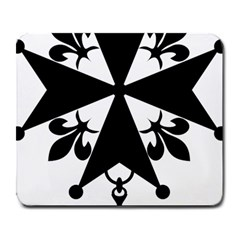 Huguenot Cross Large Mousepads by abbeyz71