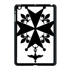 Huguenot Cross Apple Ipad Mini Case (black) by abbeyz71