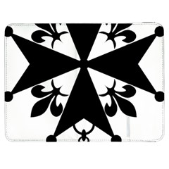 Huguenot Cross Samsung Galaxy Tab 7  P1000 Flip Case by abbeyz71
