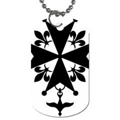 Huguenot Cross Dog Tag (one Side) by abbeyz71