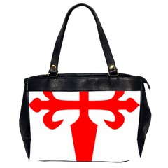 Cross Of Saint James  Office Handbags (2 Sides)  by abbeyz71