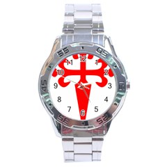 Cross Of Saint James  Stainless Steel Analogue Watch by abbeyz71