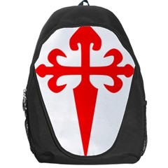 Cross Of Saint James  Backpack Bag by abbeyz71