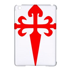 Cross Of Saint James  Apple Ipad Mini Hardshell Case (compatible With Smart Cover) by abbeyz71