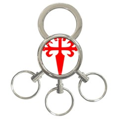 Cross Of Saint James 3 Ring Key Chains by abbeyz71
