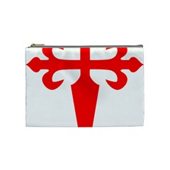 Cross Of Saint James Cosmetic Bag (medium)  by abbeyz71