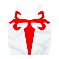 Cross Of Saint James Full Print Recycle Bags (l)  by abbeyz71