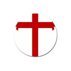 Cross Of Saint James Magnet 3  (round) by abbeyz71