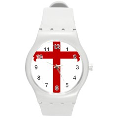Cross Of Saint James Round Plastic Sport Watch (m) by abbeyz71