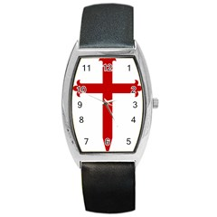 Cross Of Saint James Barrel Style Metal Watch by abbeyz71