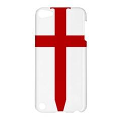 Cross Of Saint James Apple Ipod Touch 5 Hardshell Case by abbeyz71