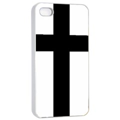 Latin Cross  Apple Iphone 4/4s Seamless Case (white) by abbeyz71