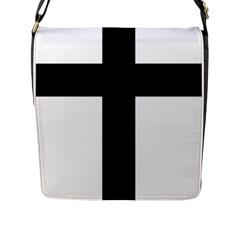 Latin Cross  Flap Messenger Bag (l)  by abbeyz71