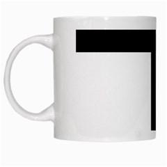 Latin Cross  White Mugs by abbeyz71