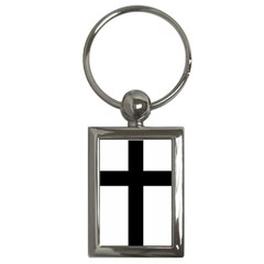 Latin Cross  Key Chains (rectangle)  by abbeyz71
