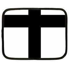 Latin Cross  Netbook Case (xl)  by abbeyz71