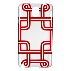 Macedionian Cross Samsung Galaxy Note 3 N9005 Hardshell Case by abbeyz71