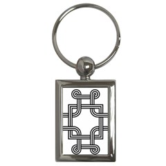 Macedonian Cross Key Chains (rectangle)  by abbeyz71