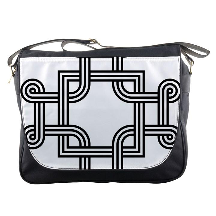 Macedonian Cross Messenger Bags