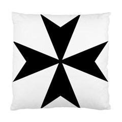 Maltese Cross Standard Cushion Case (one Side) by abbeyz71