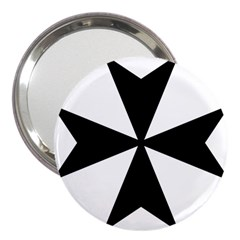 Maltese Cross 3  Handbag Mirrors by abbeyz71
