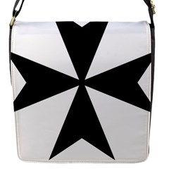 Maltese Cross Flap Messenger Bag (s) by abbeyz71